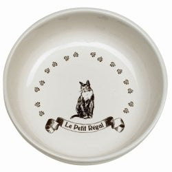 ORE Pet Vintage Parisian Bowl - Le Petit Regal