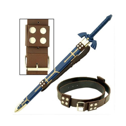 Zelda Link Hyrule Sword Leather Belt Strap