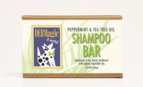 Peppermint/Tea Tree Oil Shampoo Bar (3.75 oz)