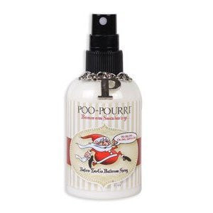 Santa Poo-pourri 4 Oz Bottle Bathroom Odor Eliminator