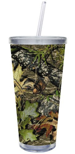 Insulated Cup w/Straw and Twist Lid Camouflage XLG 20 oz