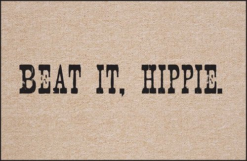 High Cotton Beat It, Hippie Indoor / Outdoor Doormat