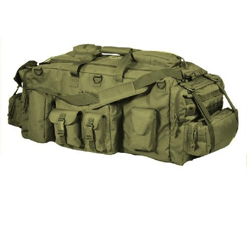 Voodoo Tactical Mojo Load-Out Bag with Back Straps (Color: Coyote)