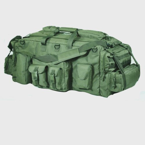Voodoo Tactical Mojo Load-Out Bag with Backback Staps (Color: Olive Drab)