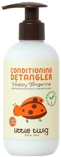 Little Twig Conditioning-Detangler, Happy Tangerine, 8.5 Ounce