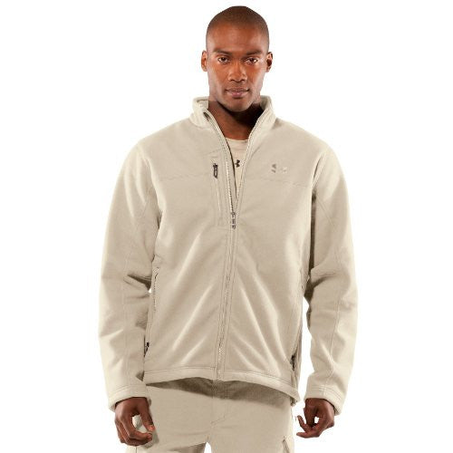 Tactical Windproof Fleece Jacket - Desert Sand, 2X-Large