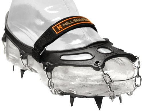Trail Crampon Traction Device (Color: Black Size: Medium)