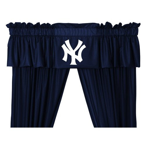VALANCE New York Yankees - Color Midnight - Size 88x14