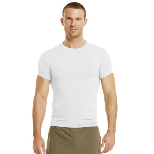 Tactical Compression Heatgear Tee - White, Small