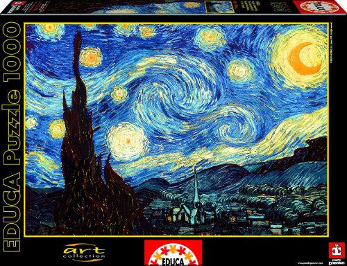 1000 The Starry Night Puzzle, Van Gogh