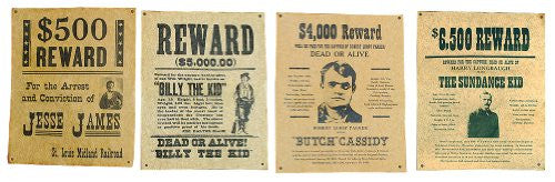 Wanted Poster - Billy the Kid