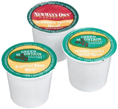 Green Mountain Coffee® Variety Decaf Coffee K-Cup® Packs, 22/Bx