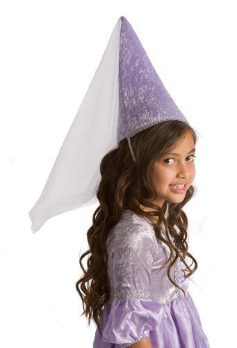 Princess Cone Hat Lilac (ages 3+; one size)