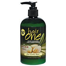 Hair One Argan Oil Cleanser & Conditioner 12oz