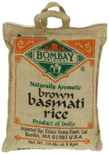 Bombay Basmati Brown Rice 10.0 LB
