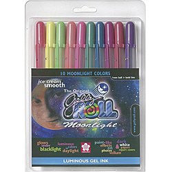 Gelly Roll Moonlight Bold Point Pens 10/Pkg - Assorted Colors