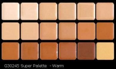 HD High-Definition Super Palettes (Super Palette- Warm)