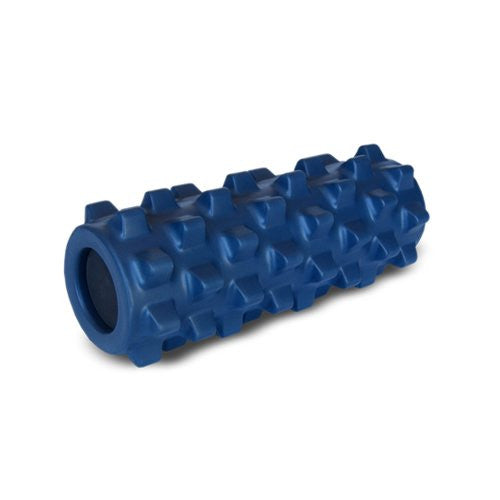 Rumbleroller Deep-Tissue Massage Roller, Blue, 12.5-Inch by RumbleRoller