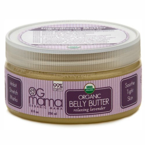 Trillium Organics Belly Butter 8 oz Ogmama Relaxing Lavender