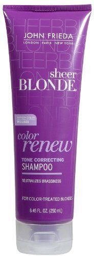 John Frieda Sheer Blonde Color Renew Shampoo 8.45oz