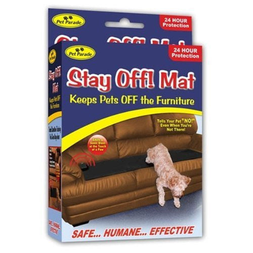 SONIC REPELLENT STAY OFF MAT FOR DOGS AND CATS