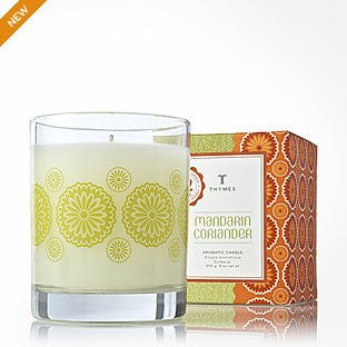 Thymes Mandarin Coriander Aromatic Candle