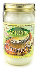 Artisana 100% Organic Raw Coconut Oil Extra Virgin -- 16 fl oz