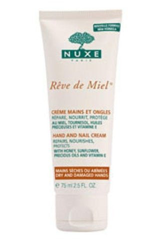 Rêve de Miel® - Hand and Nail Cream - Dry and Damaged Hands - 75 ml