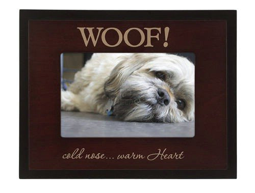 Malden Woofi cold nose... warm heart Great Woods Frame, 4-Inch by 6-Inch