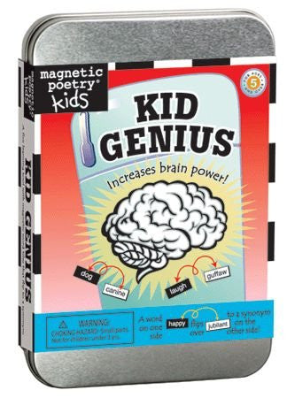 Magnetic Poetry: Kid Genius