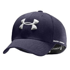 Men's Armour Stretch Fit Cap - Midnight Navy, Large/X-Large
