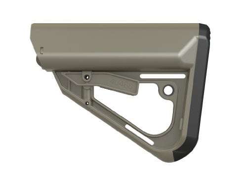 TI-7 Tactical Buttstock -- MIL-SPEC Size (Color: Olive drab)