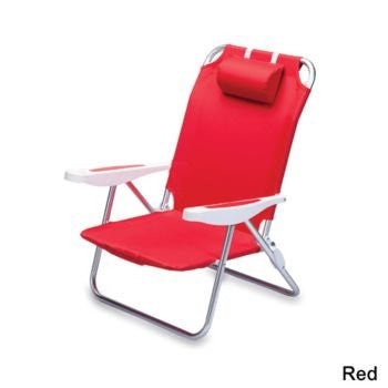 Monaco Beach Chair, Blue Stripes