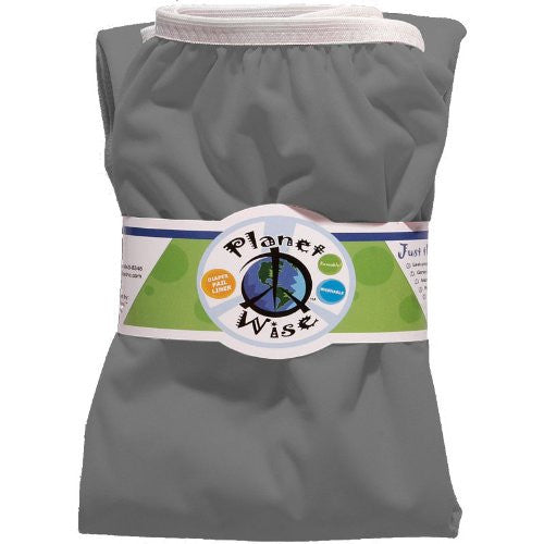 Planet Wise Diaper Pail Liner (Color: Slate)