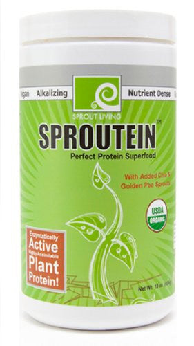 Raw Organic Sproutein: Perfect Protein Superfood-16 ozs.