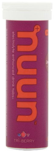Nuun Active Hydration Electrolyte Sports Drink Tabs Tri Berry 2 CT
