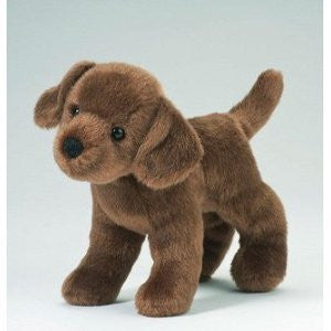 "Brownie Chocolate Lab 8"" by Douglas Cuddle Toys"