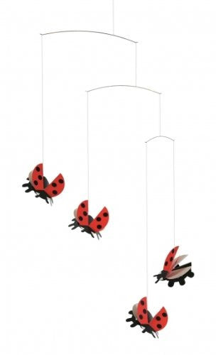 Flensted Mobiles Nursery Mobiles, Lady Bird