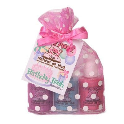 Piggy Paint NonToxic Three Polish Gift Sets