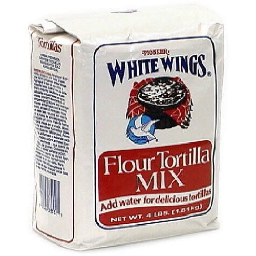 White Wing Tortilla Flour Mix 4.0 LB