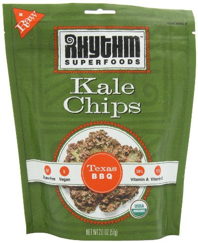 Rhythm Superfoods Texas BBQ Kale Chips 2.0 OZ