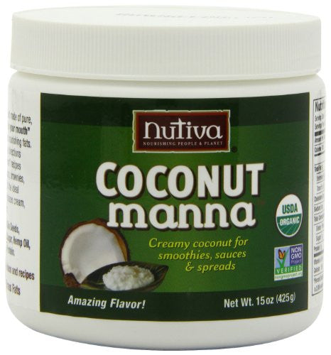 Nutiva Coconut Products Coconut Manna At least 95% Organic 15 oz