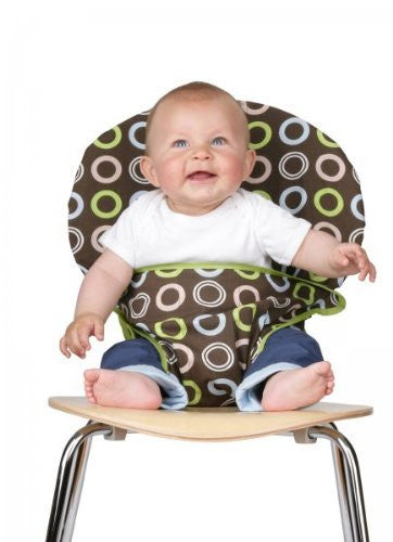 Totseat Chair Harness in Chocolate Chip