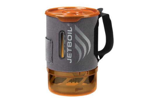 Jetboil .8 L FluxRing Sol Aluminum Companion Cup w/ Indicating Cozy (Color: Graph/Gold Size:)