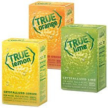 1 True Lemon Retail Packets, 1 True Lime Retail Packets, 1 True Orange Retail Packets ORDER 1 OF EACH GIVEN ITEM NUMBER TO MATCH AMAZON LISTING