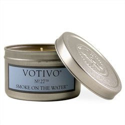 Votivo Smoke on the Water Tin Candle 4oz Candle