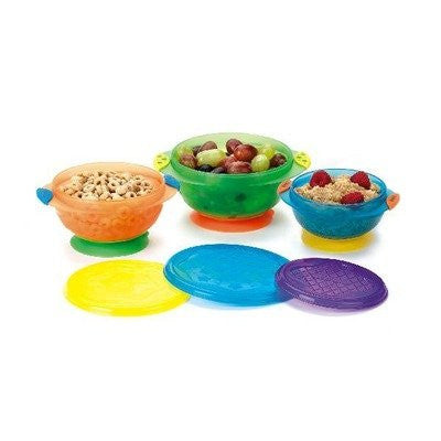 Stay-Put Suction Bowl (Set of 3)