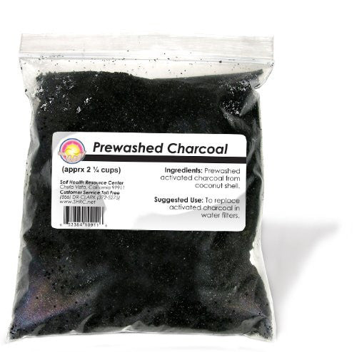 Activated Coconut Charcoal, Prewashed. 2.25 cups
