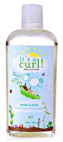 Curls It's a Curl Peek-A-Boo Tearless Shampoo - 4 Oz