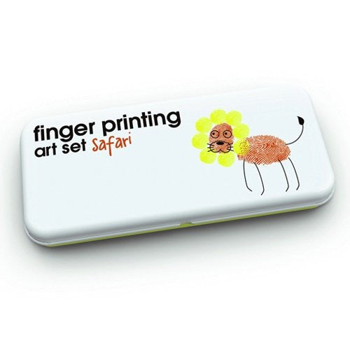 Finger Printing Art Set - Safari Edition